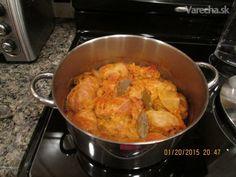 Sarma - recept mojej maminky - recept   Varecha.sk Meat, Chicken, Cooking, Food, Green Papaya Salad, Kitchen, Essen, Meals, Yemek