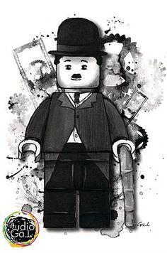 Charlie Chaplin lego