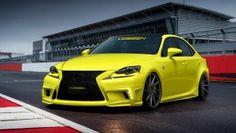 2014 #Lexus IS F Sport by Vossen Wheels