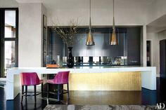 35 Sleek & Inspiring Contemporary Kitchen Design Ideas Photos | Architectural Digest