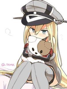 See more 'Kantai Collection' images on Know Your Meme! Anime Neko, Manga Anime, Anime Art, Prinz Eugen, Cg Art, Kawaii Anime Girl, Anime Shows, Manga Art, Anime Girls
