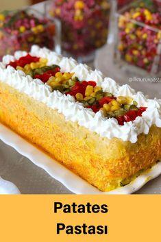 Turkish Recipes, Ethnic Recipes, Hot Dog Buns, Sushi, Cake Recipes, Recipies, Cheesecake, Deserts, Brunch