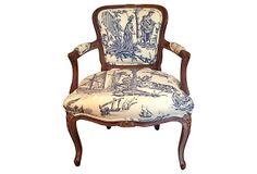 19th-C.  French Armchair on OneKingsLane.com