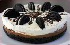 Tarta oreo sin horno Oreo Cake, Easy Meals, Cooking, Sweet, Desserts, Recipes, Chocolates, Chefs, Christmas Ideas