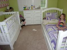 girl and baby shared room | Anyone else having their toddler share room w/ new baby??