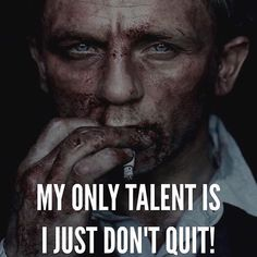 Thanks @renaissance_tv for this little reminder that sometimes it's not ALL about your skills and talents. Sometimes all you need is a little courage motivation and some support from those around you! Don't be the quitter who quit because they couldn't handle the challenge!