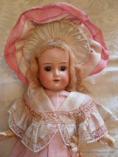 Muñeca Florodora de Armand Marseille toda de origen, 36 cm, all original!