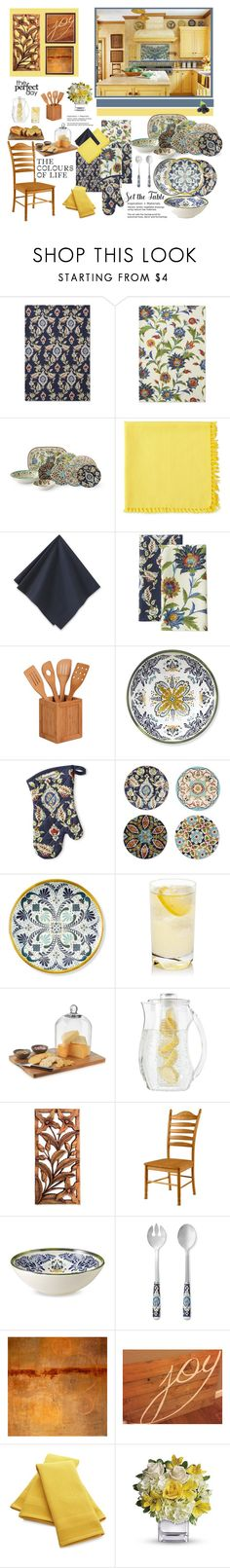 """""""The Perfect Day"""" by wendyfer ❤ liked on Polyvore featuring interior, interiors, interior design, home, home decor, interior decorating, Williams-Sonoma, Fiesta, Honey-Can-Do and Libbey"""