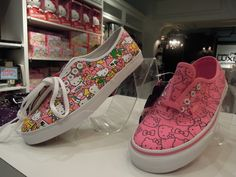hello kitty vans I wanted these for Christmas. Did I get them? NO! I didnt.