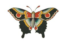 Do you want an old school butterfly as your next tattoo? Follow us to see more ideas for your tattoo style.