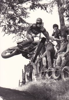 Brad Lackey Gallarate-Italy 1978  Rippin a nice Table Top now called  a Whip