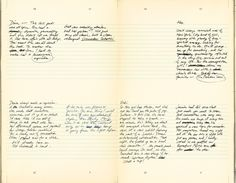"""Spread from the 13 Wives menu. FPO: """"This little black book makes 13 Wives an ironic spot for a midnight tryst."""" Huzzah."""