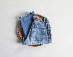 vintage 70s lived-in lee jeans | 26 waist