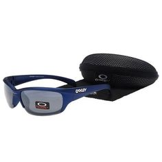Oakley Men'S Sunglasses Smoky Lens Blue Frames-34702