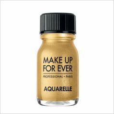 Makeup forever gold powder (list of gold products)