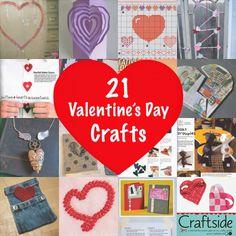 21 Valentine's Day crafts