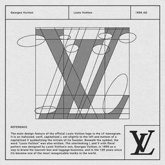 How Louis Vuitton logo - Pin Coffee Graphic Design Tips, Graphic Design Inspiration, Typography Logo, Art Logo, Logo Louis Vuitton, Logo Guidelines, Icon Design, Web Design, Famous Logos