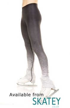 Xpression Ice Print Ombre Skating Leggings. Part of the EliteXpression Training collection available to buy from Skatey.co.uk