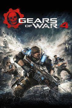GEARS OF WAR 4 - Game Cover Póster, Lámina | Compra en EuroPosters.es