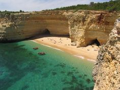 Near Armaçao de Pera, Portugal Algarve, European Vacation, Travel Destinations, Travel Europe, Heaven On Earth, Beach Trip, Beautiful Beaches, Beautiful World, Places To See