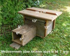 Building a Hedgehog House for your Garden Hedgehog House Plans, Hedgehog Box, Tortoise House, Woodsmith Plans, Bird Tables, Homemade Cat Toys, Bug Hotel, Dog Furniture, Garden Furniture