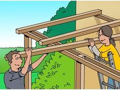 Hoe knutsel je zelf een pergola in mekaar? - Terrasoverkapping, Hoe knutsel je zelf een pergola in mekaar? Diy Pergola, Corner Pergola, Pergola Curtains, Small Pergola, Pergola Attached To House, Pergola Swing, Outdoor Pergola, Pergola Lighting, Wooden Pergola