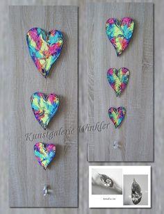Deko-Objekte - Fensterschmuck Hängedeko Herz Kristall Unikat Neu - ein Designerstück von Kunstgalerie-Winkler bei DaWanda http://de.dawanda.com/product/87802007-fensterschmuck-haengedeko-herz-kristall-unikat-neu