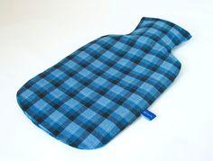 """Wärmflasche  """"Karo"""" von JaMaTa - handgemachte Accessoires und Röcke auf DaWanda.com"""