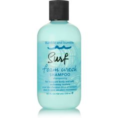 Bumble and Bumble Surf Foam Wash Shampoo, 250ml ($25) ❤ liked on Polyvore featuring beauty products, haircare, hair shampoo, beauty, colorless and bumble and bumble