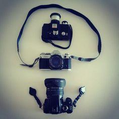 #Minolta #SLR #Canon #AE1 #Xti #400D #DSLR - @ruben_i- #webstagram