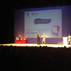 Premios AJE Asturias 2014 Mención Campoastur
