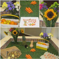 Our Harvest Festival display - Birch Green Care Home Skelmersdale