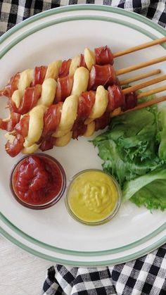 A genius twist on a hot dog.