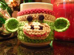 A Cozy Christmas mug hugger for my mum