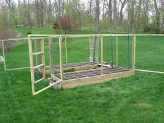 "Square Foot Gardening with deer fence ""marc-in-pa"""
