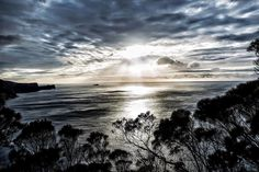 Tasmania Australia | May 12 2016 Just around the bend another stunning sunrise ocean-scape.  #threecapestrack #threecapes #sonyalpha #tasmania #seeaustralia #discovertasmania #sunrise by benlowy