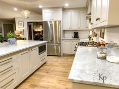 Revere Pewter Kitchen Cabinets - Painted by Kayla Payne - New Ideas Refacing Kitchen Cabinets, Painting Kitchen Cabinets, Kitchen Renovations, Oak Cabinets, Revere Pewter Kitchen, Interior Door Colors, Revere Pewter Benjamin Moore, Distressed Kitchen, Rustic Kitchen