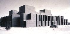 Louis Kahn First Unitarian Church - Cerca con Google