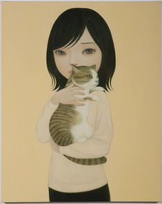 Painting by Hideaki Kawashima