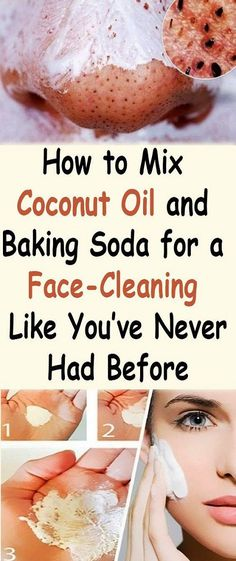 How to mix coconut oil and baking soda for a face-cleaning like you've never had before - The Beauty Goddess