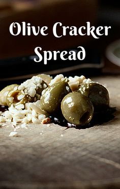 Carla Hall's sweet, tart, and tangy Olive Cracker Spread can be put together in under a minute. That means even if guests show up at the last minute or you desperately need a quick yet elegant snack, you're covered!