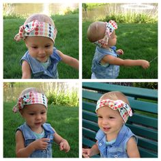 ORGANIC Cotton Dots, Dots, Polka Dots Knotted Head Wrap... Baby turban... Headwrap by emersongraceboutique on Etsy
