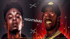 "[FREE] 21 Savage ft. Travis Scott type beat -""NIGHTMARE"" | Trap Instrume..."