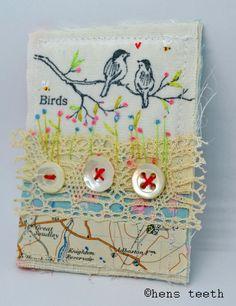 brooch | por hens teeth
