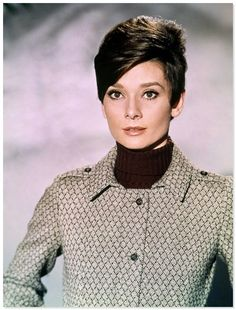 audrey hepburn 1967.jpg  I would so rock this haircut.