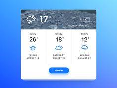 DailyUI — Weather