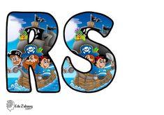 Piraci: Okrągłe litery i cyfry Dzień postaci z bajek Litery i cyfry do tworzenia napisów Piraci Postacie Donald Duck, Disney Characters, Fictional Characters, Art, Lyrics, Art Background, Kunst, Performing Arts, Fantasy Characters