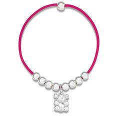 Elastic TOUS Bubble Bear bracelet with sterling silver  TOUS WASHINGTON DC