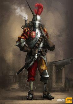 Fantasy Rifleman by BrotherOstavia.deviantart.com