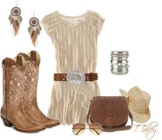 """""""A little bit of country"""" by ttalley001 ❤ liked on Polyvore"""
